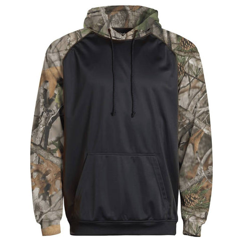 Adult Camo Color Block Hoodie