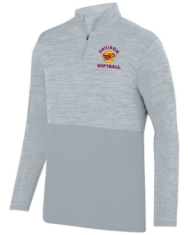 Davison Softball Silver Shadow Tonal 1/4 Zip Pullover