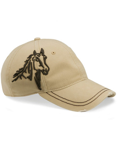 Horse Embroidered Cap