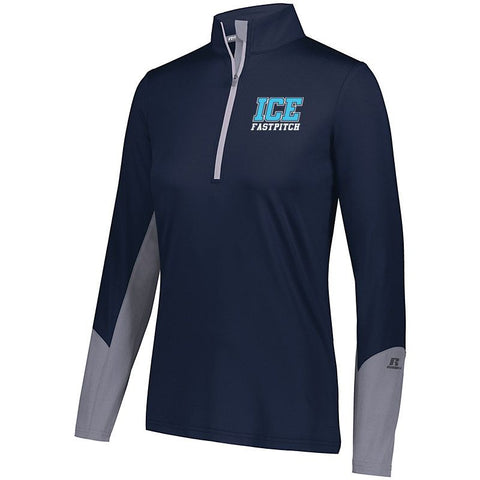 LADIES Ice Fastpitch Hybrid Pullover