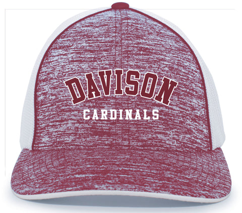 Davison Cardinals Heather Trucker FLEXFIT® CAP - CPTO