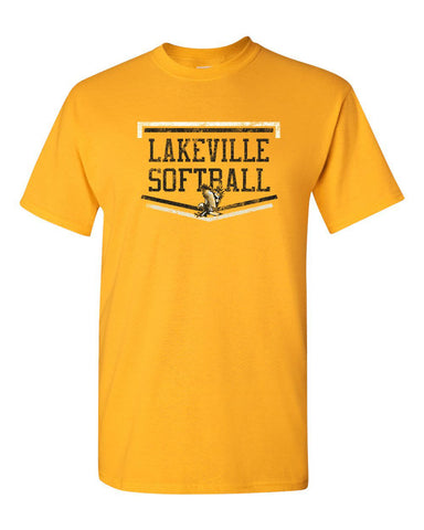 Lakeville Softball Basic Gold T-shirt