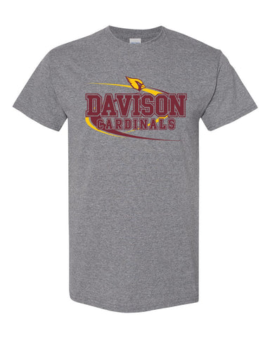 Davison Softball Grey Tee