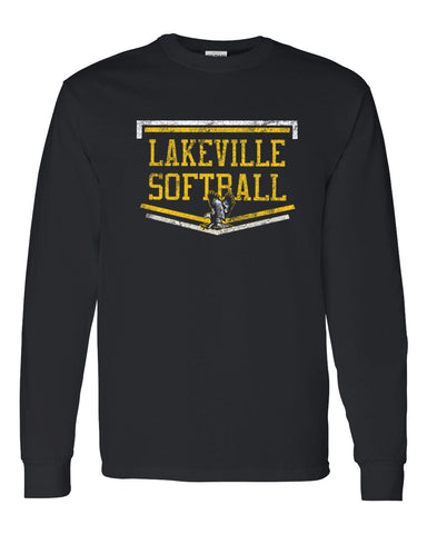 Lakeville Softball Basic Black Long Sleeve