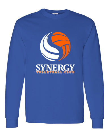 Kearsley Basketball Royal Long Sleeve
