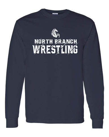 North Branch Wrestling Long Sleeve Shirt