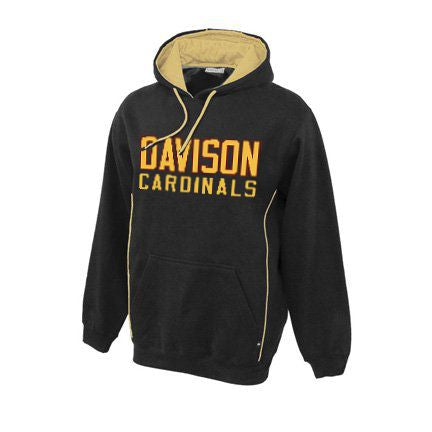 Davison Cardinals - Pin Stripe Hood
