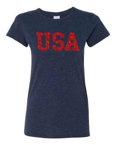 USA Glitter (Junior Fit) Tee