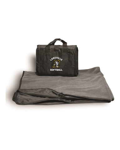 Lakeville Softball Fleece Polyester/Nylon Picnic Blanket