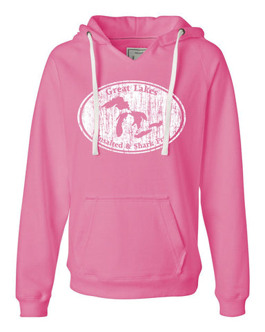 Ladies V-Notch Great Lakes Hood