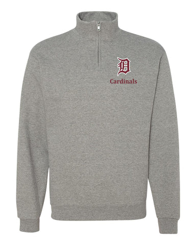 Davison 1/4 Zip Cotton Pullover