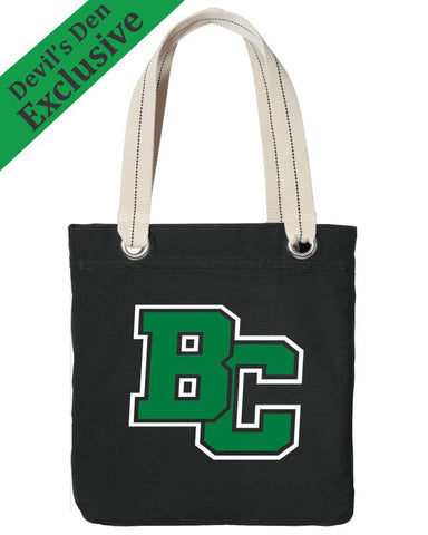 Brown City Allied Canvas Tote Bag