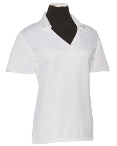Callaway Ladies Raised Stitching Golf Polo