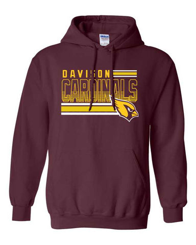 "Davison ""Lines"" Hooded Sweatshirt"