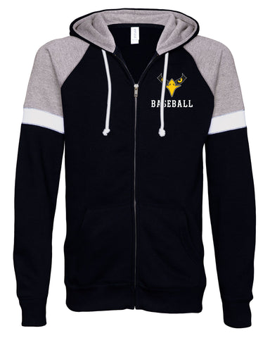 Lakeville Baseball Colorblock Full Zip Jacket