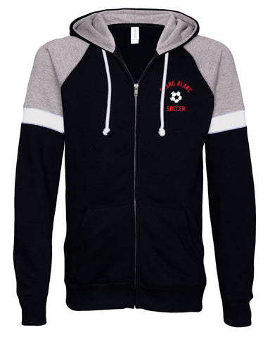 Grand Blanc Soccer Colorblock Full Zip Jacket