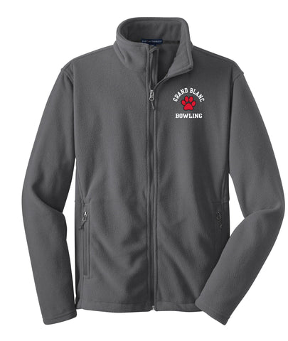 Grand Blanc Bowling Fleece Full Zip Jacket