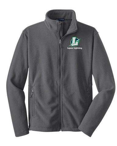 Lapeer Lightning Full Zip Fleece