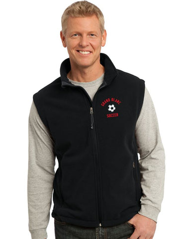 GB Soccer Fleece Full Zip Vest