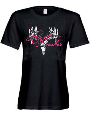 Ladies Heart Breaker Bone Tee
