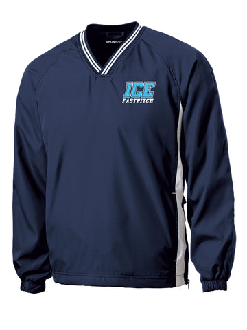 ICE Fastpitch Windbreaker Pullover