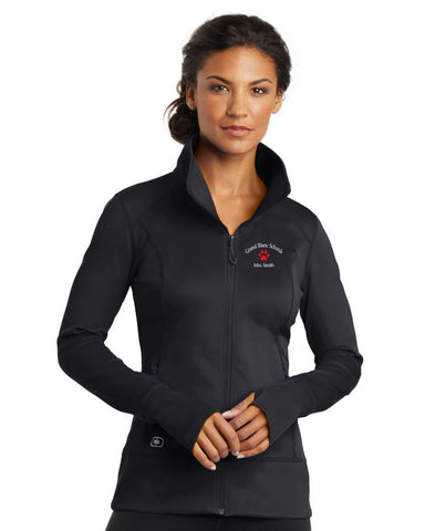 Grand Blanc Schools Ladies Fulcrum Full Zip