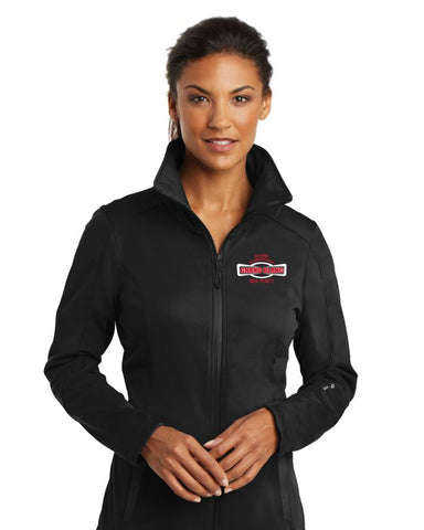 Myers Elementary Ladies Black Crux Soft Shell Jacket