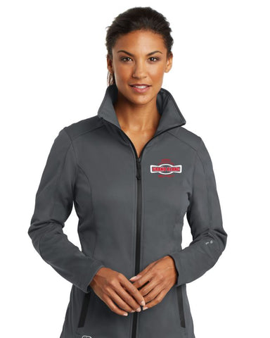 Myers Elementary Ladies Grey Crux Soft Shell Jacket