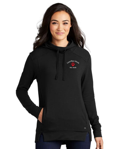 Grand Blanc Schools Ladies Luuma Pullover Fleece Hoodie