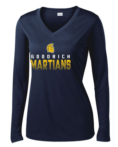 Ladies Goodrich Martians Performance Long Sleeve Shirt