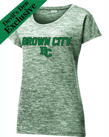 Brown City Ladies Electric Tee