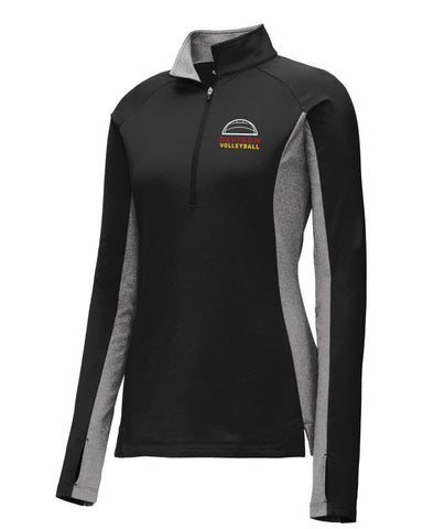 Davison Volleyball Performance 1/4 Zip Jacket