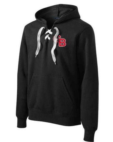 Grand Blanc Lace Up Hood