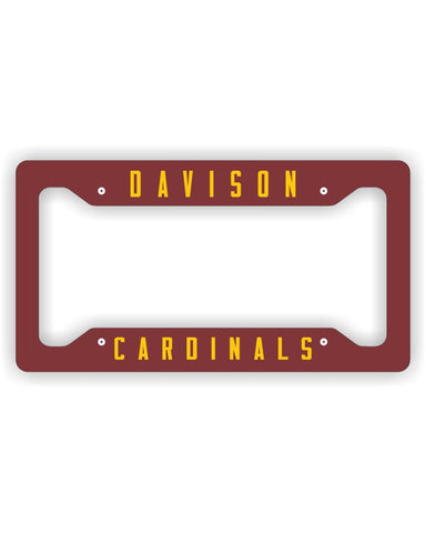 Davison Cardinals License Plate Frame