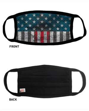 Maverick USA Made Comfort Face Mask - Flag