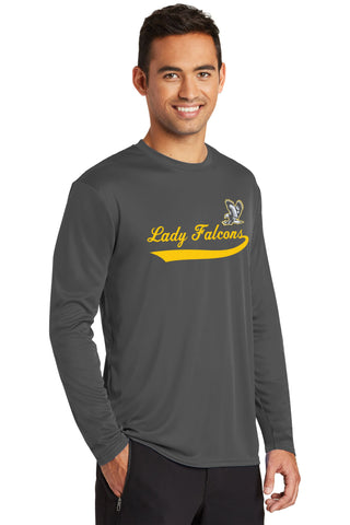 Lady Falcons Performance Long Sleeve Shirt