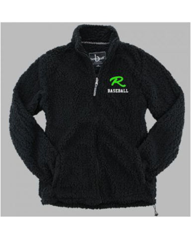 Mid Michigan Renegades Womens Sherpa Full Zip Pullover
