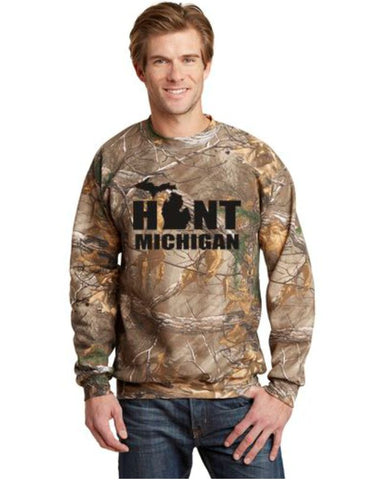 Hunt Michigan Russell Outdoors™ - Realtree® Explorer 100% Cotton Long Sleeve Shirt