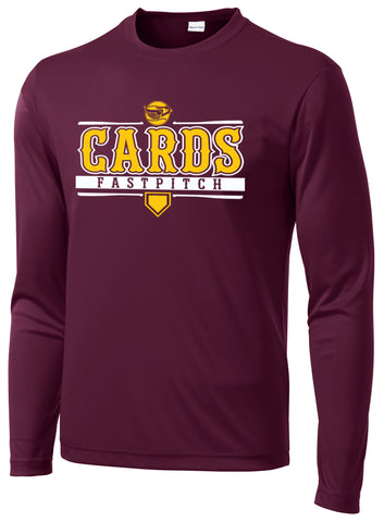 Cards Fastpitch Performance Long Sleeve