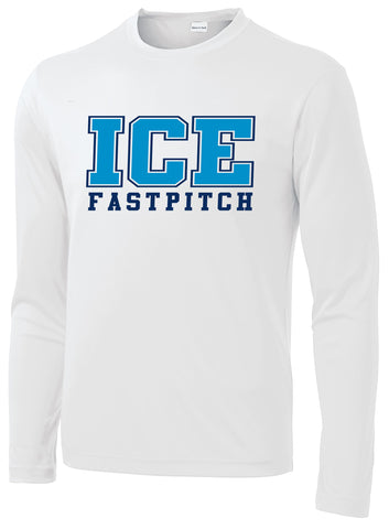 Ice Fastpitch Performance YOUTH Long Sleeve