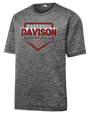 Davison Baseball Adult Electric Tee