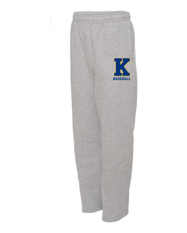 "Kearsley ""k"" Logo Pocketed Fleece Pants"
