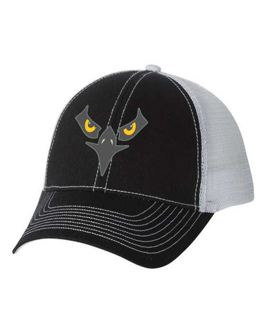 Falcon Bird Contrast Stitch Trucker Cap