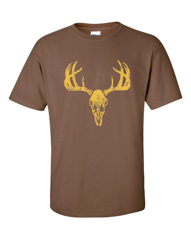 European Distressed Deer T-Shirt