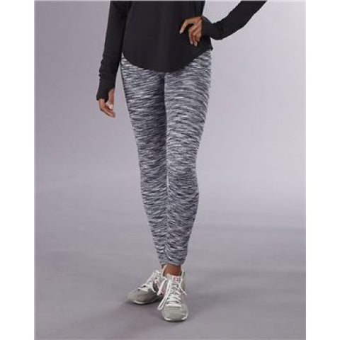 Black Ladies Alpine Fleece Leggings