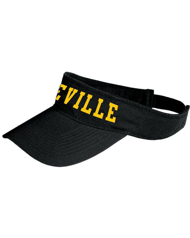 Lakeville Black Visor
