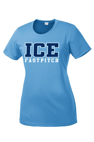 ICE Fastpitch Performance LADIES T-shirt
