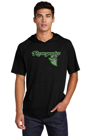 Renegades Tri-Blend Wicking Short Sleeve Hoodie