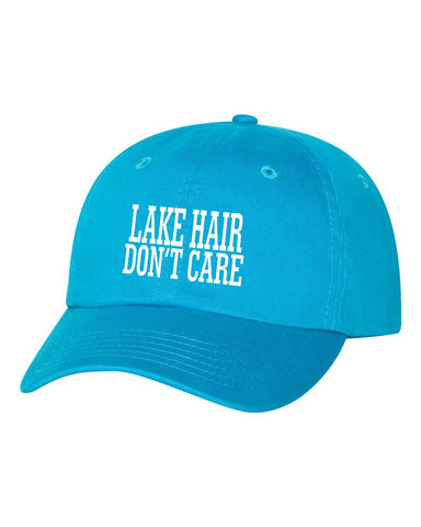 Lake Hair Don't Care Adjustable Hat