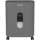 Boxis® NanoShred® BN101P-GUN 10 Sheet Nanocut® Shredder - Gun Metal<br> THE NEXT EVOLUTION OF PAPER SHREDDERS